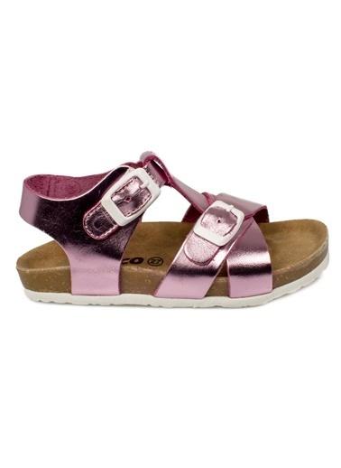 Vicco Vicco Kemerli  Kız Çocuk Ayakkabı Pembe